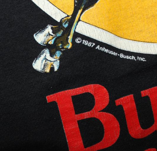 Army Mules Budweiser Salutes You vintage 1987 t-shirt XL