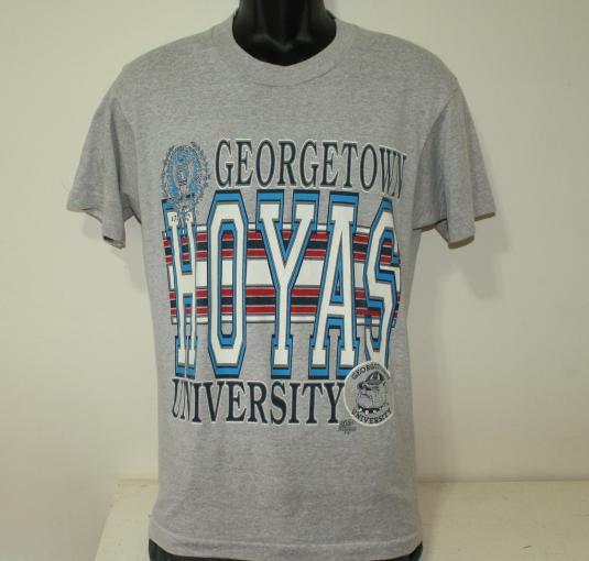 Georgetown Hoyas vintage gray t-shirt M/L