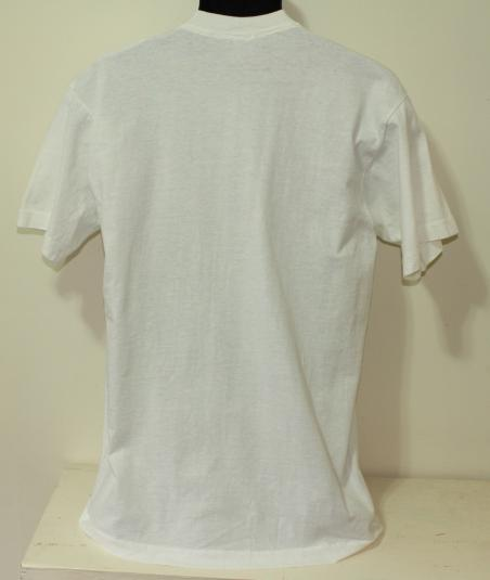 Bo Jackson Bart Simpson vintage white t-shirt L/M