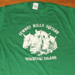 Surrey Hills Square Mackinac Island vintage t-shirt