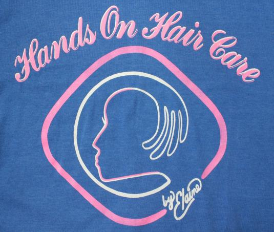 Hands On Hair Care by Elaine vintage t-shirt Large