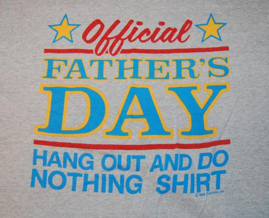 Official Father's Day vintage t-shirt Medium/Large