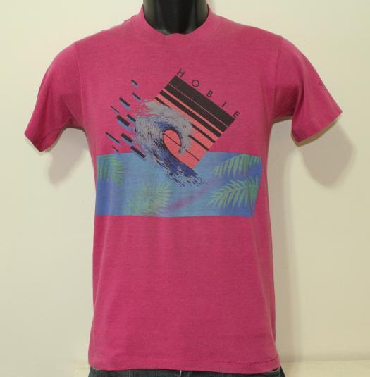 Hobie Surfing Wave vintage fuscia t-shirt XS/S