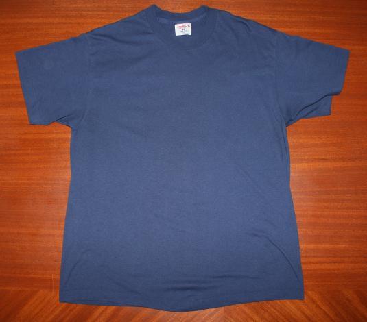 Garage Sales and Flea Markets vintage navy blue t-shirt L