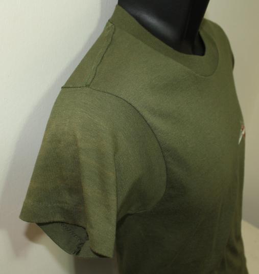 Air Staff vintage green Screen Stars t-shirt Small/XS