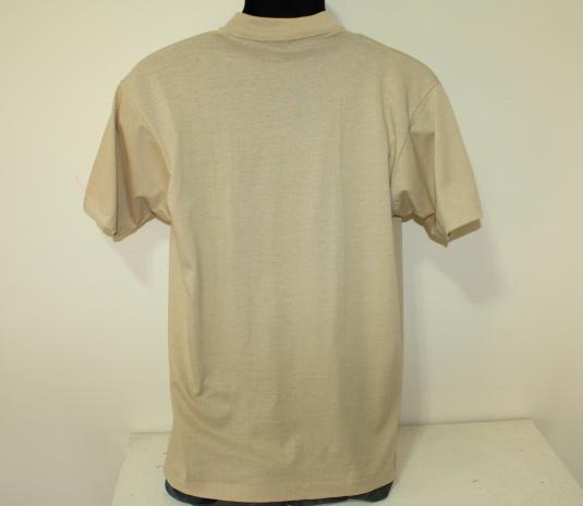Jose Cuervo Tequila Mexico vintage 1986 beige t-shirt M/L