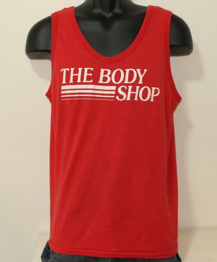 Body Shop vintage red Screen Stars tank top L/M