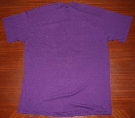 1990 Bart Simpson Minnesota Vikings vintage purple t-shirt L