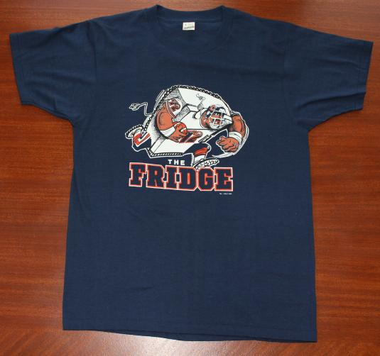 Fridge Chicago Bears Refrigerator Perry 1985 vtg t-shirt M/L