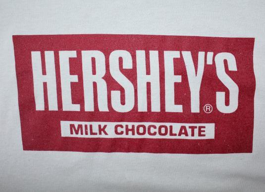 Hershey's Milk Chocolate vintage Screen Stars t-shirt L/M