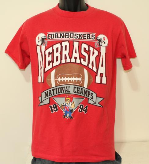 Nebraska Cornhuskers 1994 National Champs vtg t-shirt M/S