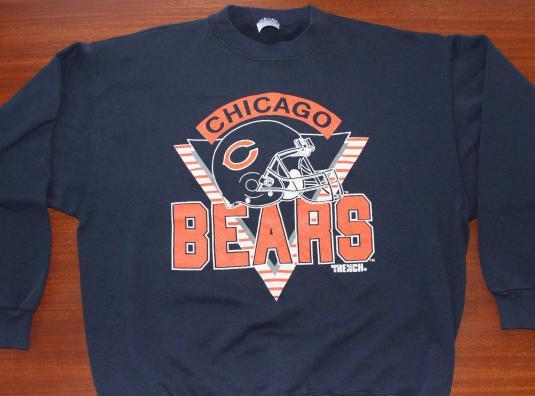 Chicago Bears vintage navy blue sweatshirt XL
