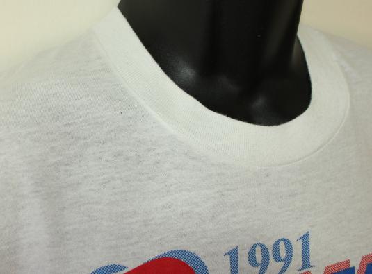 Iowa Games 1991 vintage white Screen Stars t-shirt M/S