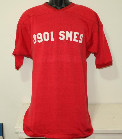 3901 SMES Air Force Missileers #1 vtg jersey shirt Tall S/M