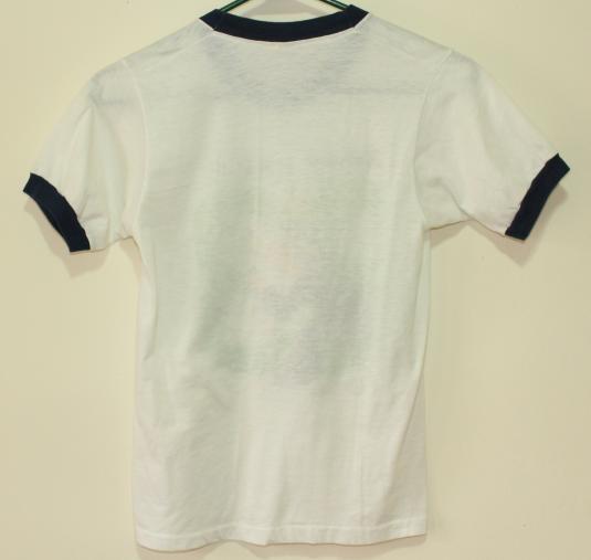 Kamp Akela 1983 camp vintage ringer t-shirt Youth 14-16