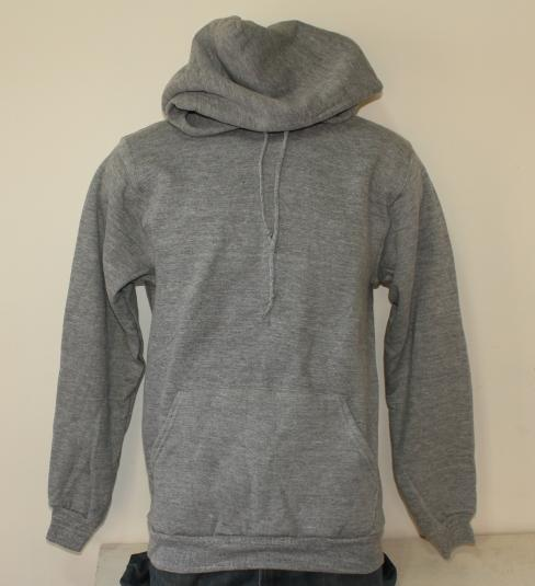 RAYON DEADSTOCK Russell Athletic vintage gray hoodie Small