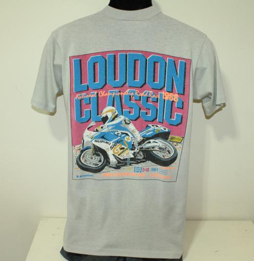 Loudon Classic motorcycle road race vintage 1988 t-shirt S/M