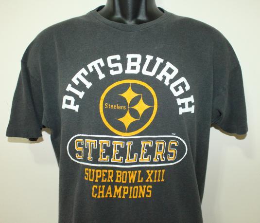 Pittsburgh Steelers Super Bowl Champions vtg t-shirt M/L