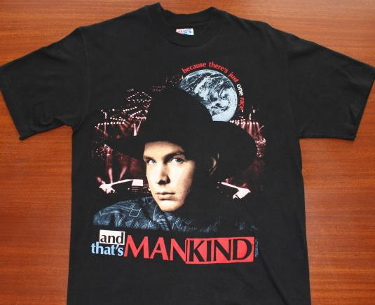 Garth Brooks 1994 Just One Race Mankind vintage t-shirt M