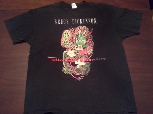 Bruce Dickinson – Tattooed Millionaire – 1990 Solo Tour