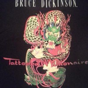 Bruce Dickinson - Tattooed Millionaire - 1990 Solo Tour