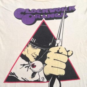 1971 A Clockwork Orange promo tee
