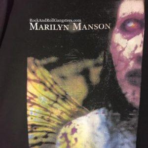 Marilyn Manson Crew Neck Sweatshirt - Anti-Christ Superstar