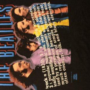 "The Beatles T-Shirt - ""ROCK"""