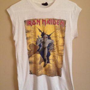 Iron Maiden Powerslave Concert T 1985