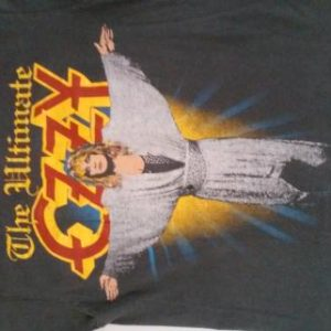 The Ultimate Ozzy tour shirt