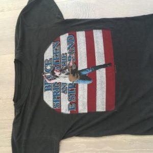 1984 Bruce Springsteen world tour t shirt