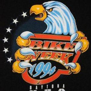 Vintage '94 Daytona Bike Week Bad Lands Trading Post T-Shirt