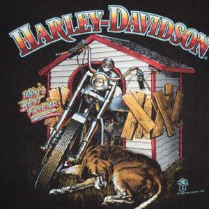 Vintage 80's Harley Davidson Ballance's Battle Creek T-Shirt