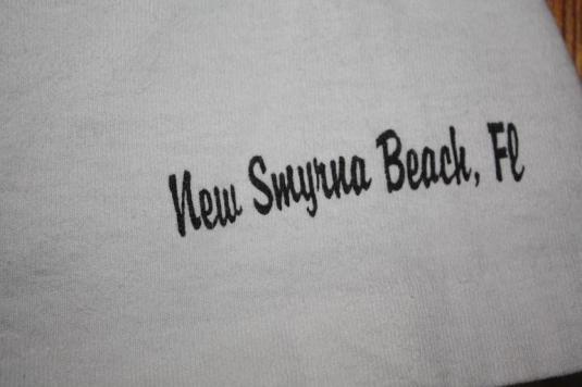 Vintage New Smyrna Beach Pelican T-Shirt