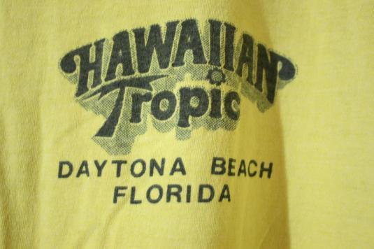 Vintage Hawaiian Tropic Beachy Surf T-shirt