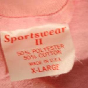 Vintage 80's Pink Washington D.C. Tourist Souvenir T-Shirt