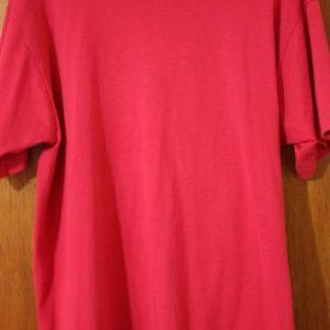 Vintage Screen Stars Best Large Blank Magenta 50/50 T-Shirt