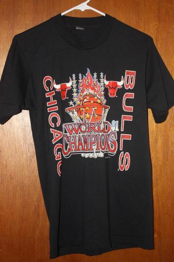 Vintage Chicago Bulls Basketball 1991 Champions T-Shirt