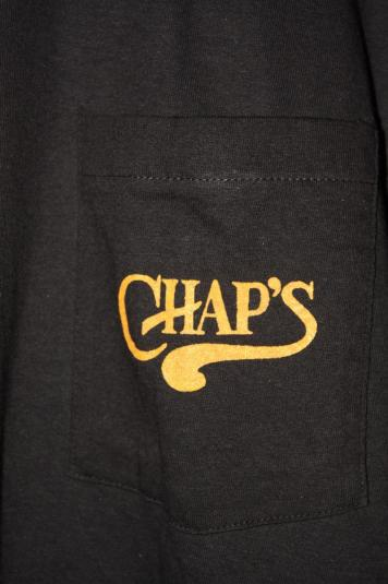 Vintage Chaps Steak House Saloon Bar Grill Early 90s T-shirt