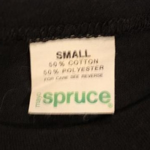 Wazmo Nariz New Wave 80's Small 50/50 Vintage T-Shirt