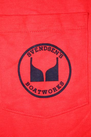 Vintage Svenden's Boatworks Alameda Deadstock Ad T-shirt