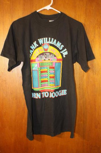 Vintage Hank Williams Jr. Born To Boogie Country T-Shirt