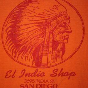 Vintage 80's San Diego El Indio Shop Indian Chief T-Shirt