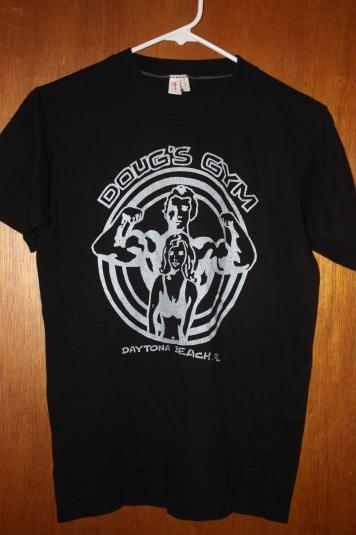 Vintage 80's Doug's Gym Daytona Beach T-Shirt