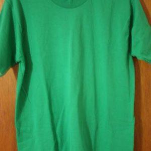 Vintage Green Fruit of the Loom Best Blank Medium T-Shirt