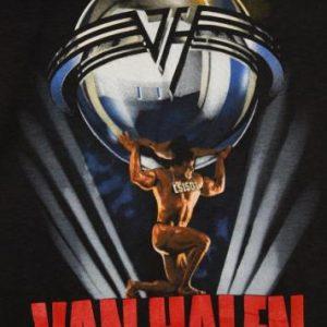 Vintage 80's Van Halen 5150 1986 Tour Dead Stock T-Shirt