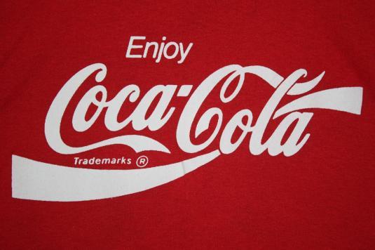 Vintage Enjoy Coca Cola Coke Youth Foundation T-Shirt