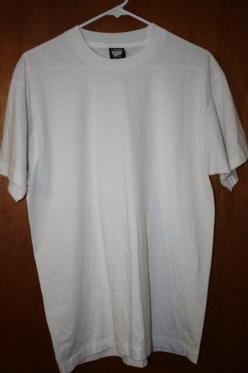 Vintage Screen Stars Best White Dead Stock Blank T-Shirt