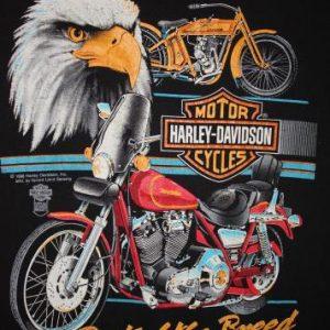 Vintage 80's Harley Davidson Eagle Best of the Breed T-Shirt
