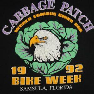 Vintage '92 Bike Week Cabbage Patch Long Sleeve T-Shirt